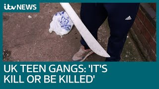 Machete-wielding teen on gang life &#39It&#39s either kill or be killed&#39 ITV News