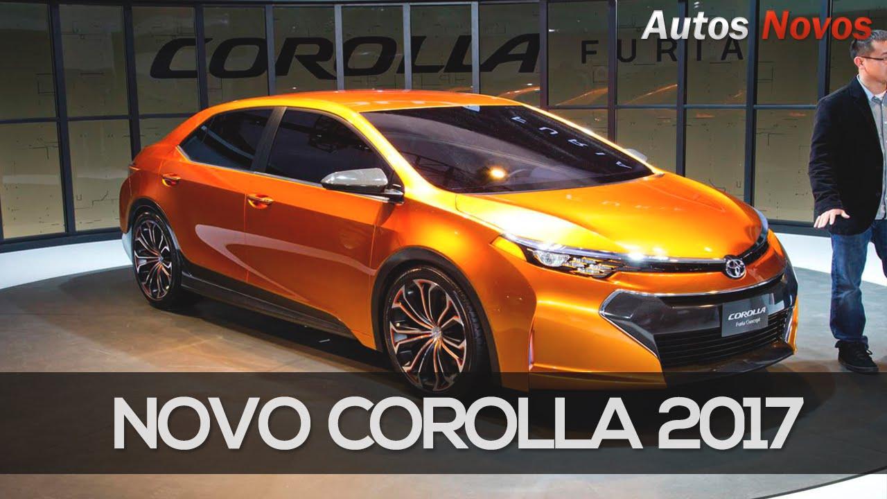 Novo Corolla 2017 informações - Autos Novos - YouTube