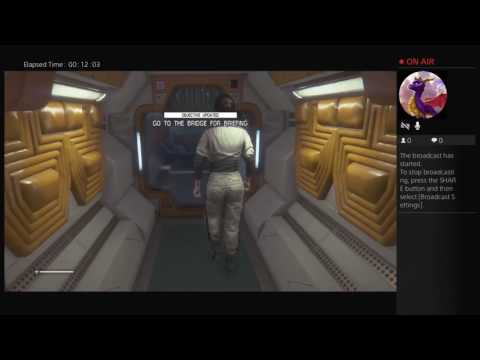 Lets play Alien isonlation Episode 1 (Well SH#T)