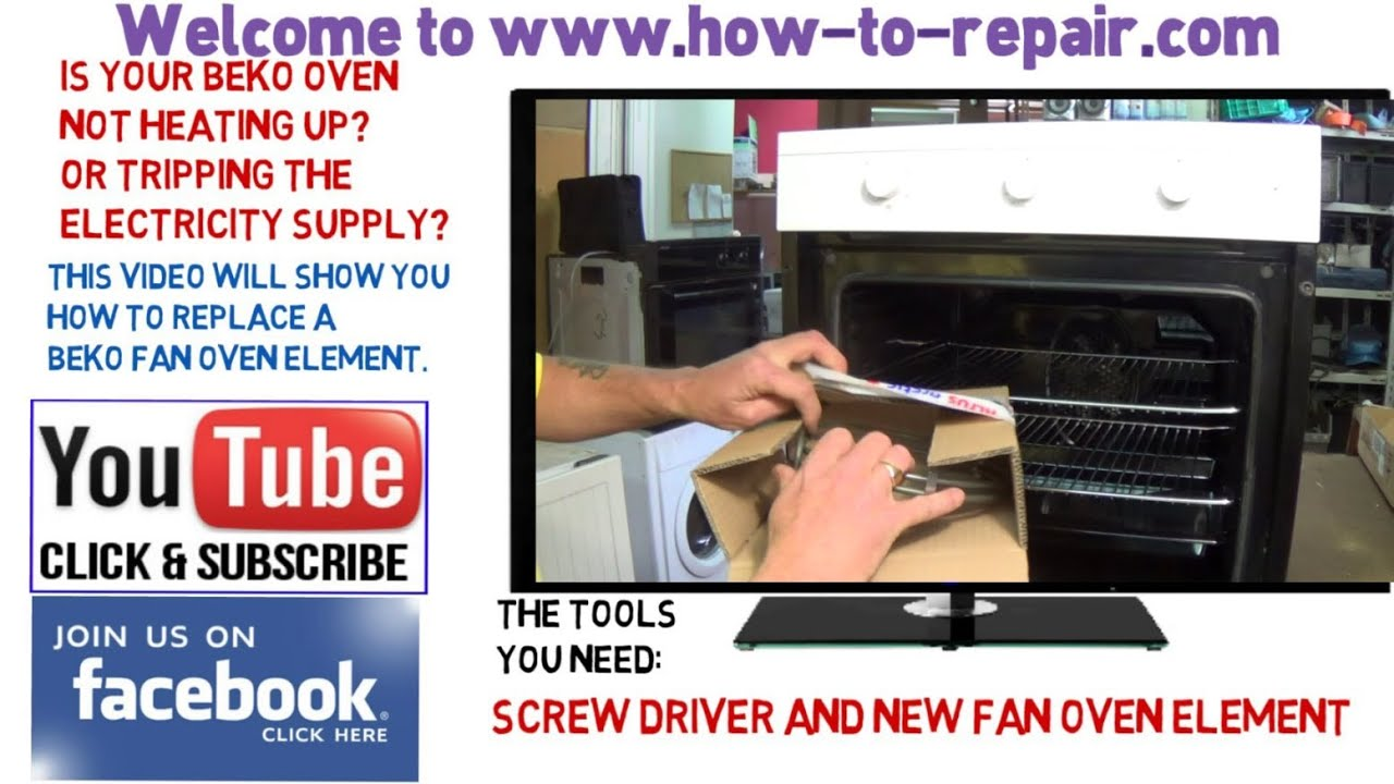 Convection Oven Wiring Diagram Beko Oven Not Heating Up How To Replace A Beko Fan Oven