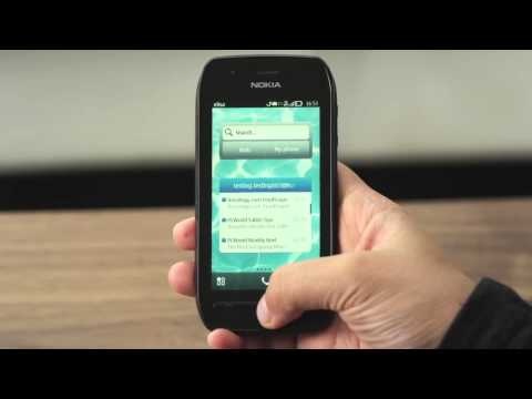 Nokia 603 with Symbian Belle Demo