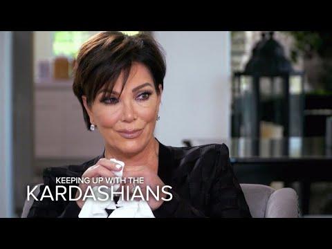 KUWTK | Kris Jenner Breaks Down Over Her Biggest Fear | E!