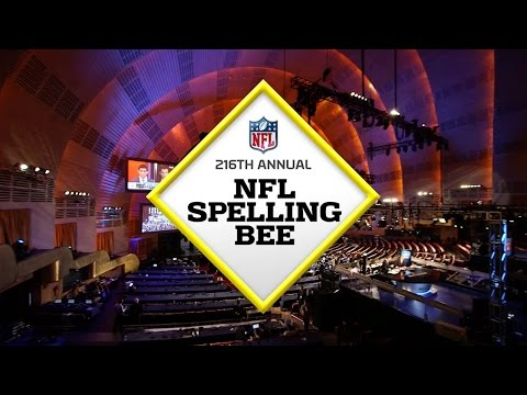 2016 NFL Spelling Bee Hosted by Jason & Randy Sklar  NFL Now