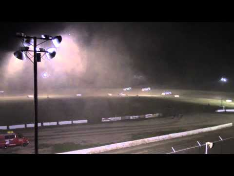 Muskingum County Speedway Late Model Feature 7-25-15