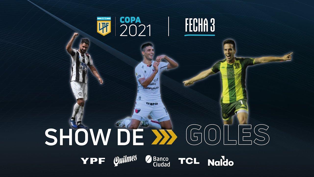 Copa de la Liga | Show de goles de la fecha 3