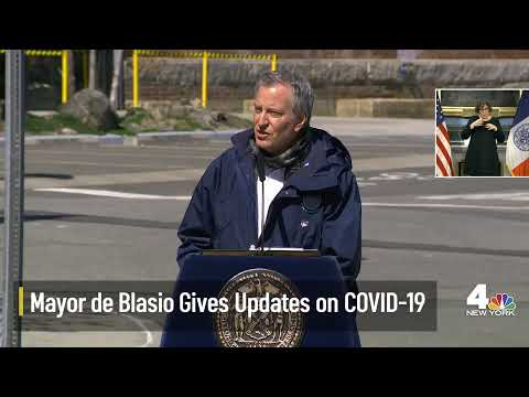 Mayor De Blasio Updates On NYC Coronavirus Response