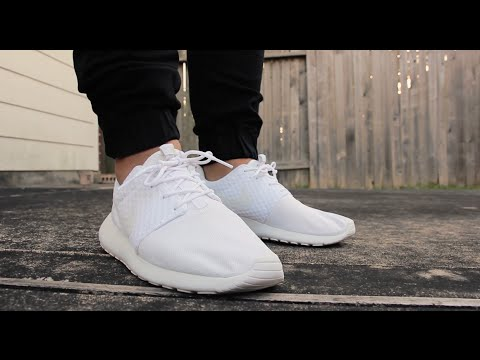 roshe run white