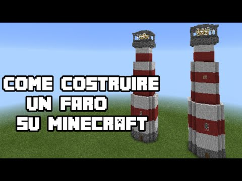Come costruire un faro su minecraft tutorial youtube for Come costruire un ranch