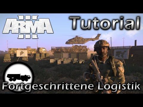 ArmA 3 Tutorial: Fortgeschrittene Logistik (german)