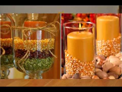 DIY Thanksgiving Decorations Projects Ideas   YouTube