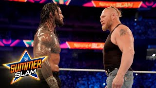 Brock Lesnar comes calling for Roman Reigns SummerSlam 2021 WWE Network Exclusive