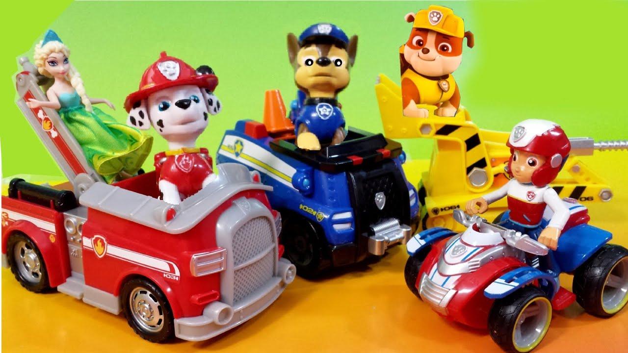 New Paw Patrol Dog Toys Nickelodeon Nick Jr Rubble Bull