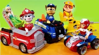 NEW Paw Patrol Dog Toys Nickelodeon Nick Jr Rubble Bulldozer Marshall Firetruck Chase Ryder ATV