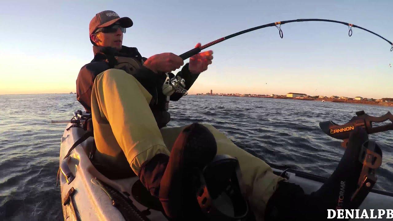 Livelining bunker for big striped bass 4k nj kayak for Nj fishing license online