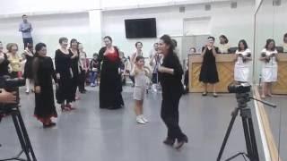 Урок  страстного фламенко от испанской bailaora