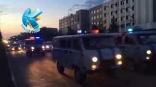 Автопробег полиции в Кокшетау