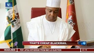 Impeachment Threat: Saraki Expresses Confidence In The Rule Of Law