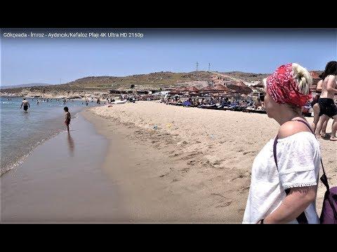 Gökçeada - İmroz - Aydıncık/Kefaloz Plajı 4K Ultra HD 2160p