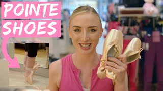 CLAUDIA GETS FITTED FOR POINTE SHOES!