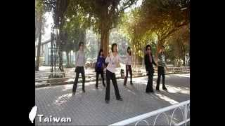 Kiss Cha Cha - Line Dance ( Evonne Ng )