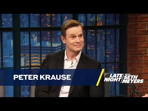 Peter Krause Gets Unique Advice on Filming Sex s