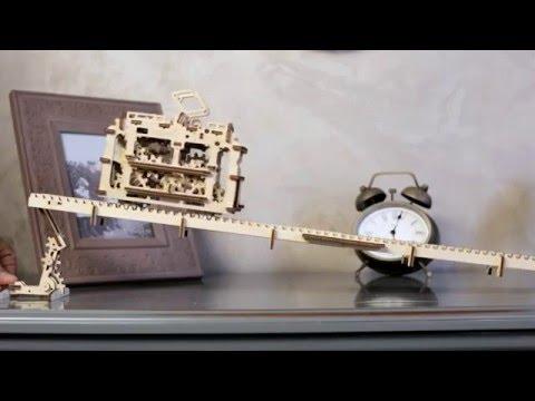 哥白尼的實驗室/正版UGEARS科學玩具/有軌電車 Tram/自我推進模型