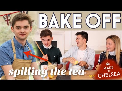 Bake Off's Henry Made My Birthday Cake And Spilled The Tea On GBBO!! (w/ Henry Bird + Eliza Batten)