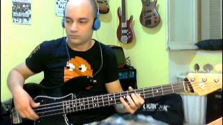 Amy Winehouse - Valerie (Bass Cover by Jecks)