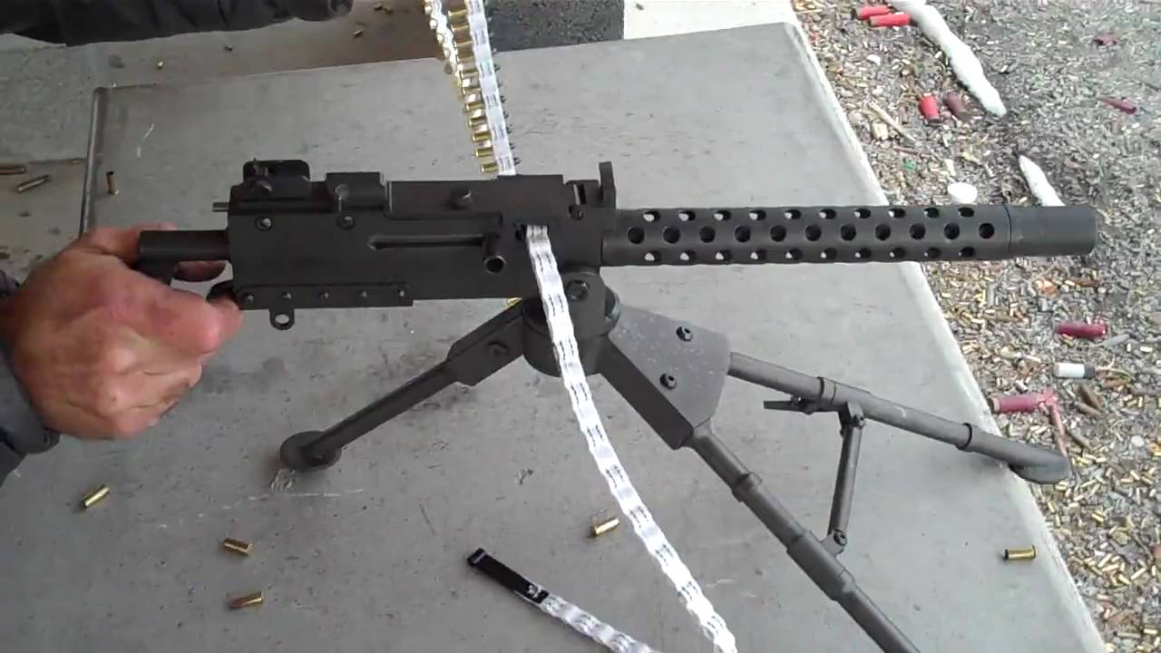 22 Belt-feed Machine Gun Tippman