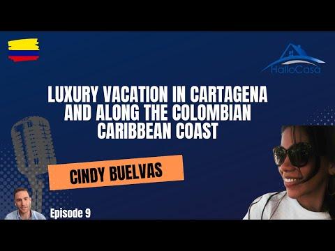 Live Interview - Session #9 - Guest: Cindy Buelvas CartagenaConcierge
