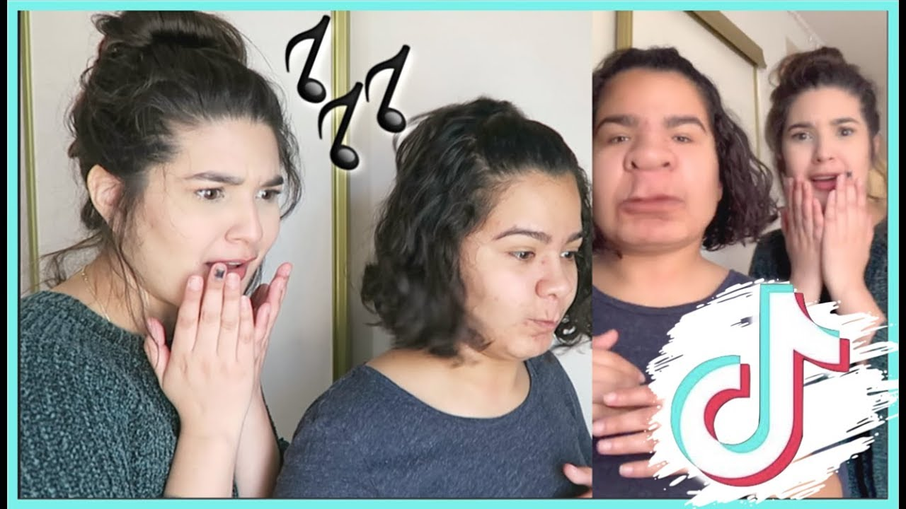 TRYING TIKTOK FOR THE FIRST TIME