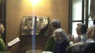 Cerimonia Inaugurazione scultura per il centenario della nascita di Don Bernardo Bianchi