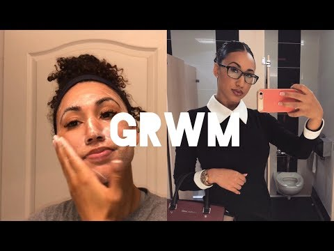 Get Ready With Me | My First Day of Work