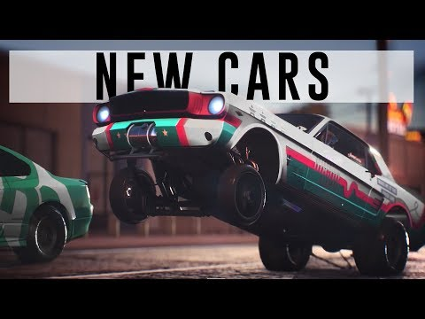 NFS PAYBACK - ALL 48 CARS FROM NEW TRAILER