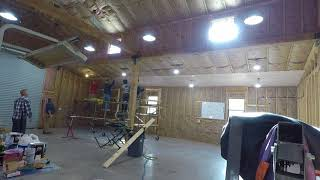 Ceiling Installation Workday Time Lapse