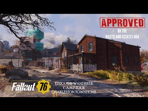 Charleston Townhome   Fallout 76 C.A.M.P  