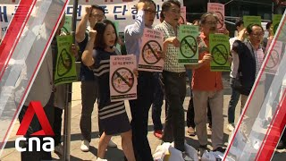 Civic groups in South Korea call for boycott of Japanese goods