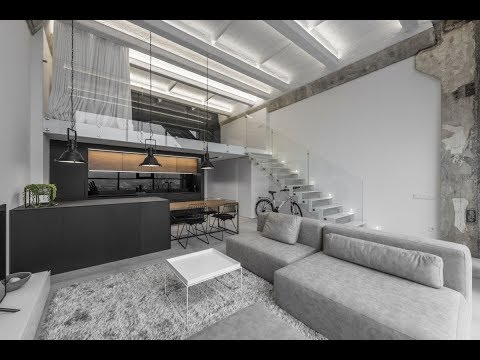 Welcoming Loft Apartment In A Reconstructed Industrial Build