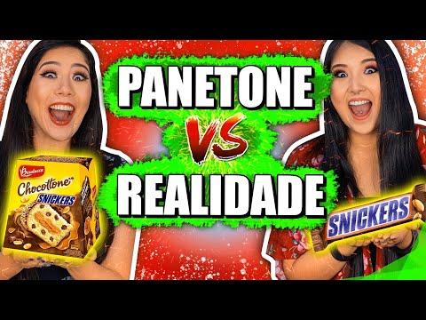 PANETONE VS REALIDADE | Blog das irmãs