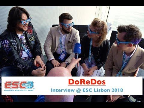 DoReDos (Moldova) interview @ Eurovision 2018 Lisbon | ESC Radio