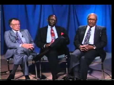 Wilfred Fisher, Melvin Darden, and Doris Duplechin