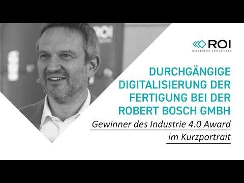 Durchgängige Digitalisierung der Fertigung bei der Robert Bosch GmbH