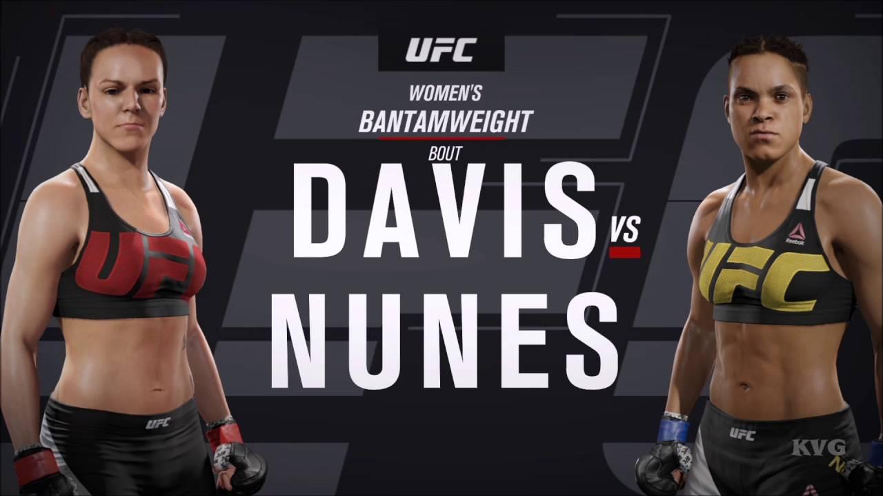Download EA Sports UFC 2 - Alexis Davis vs Amanda Nunes | Gameplay (HD) [1080p60FPS]