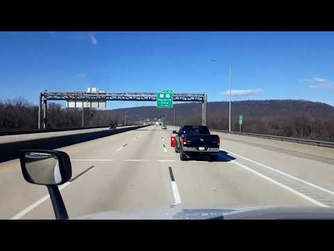 BigRigTravels LIVE! Harrisburg, Pennsylvania area Interstate 81 South-Feb. 9, 2019