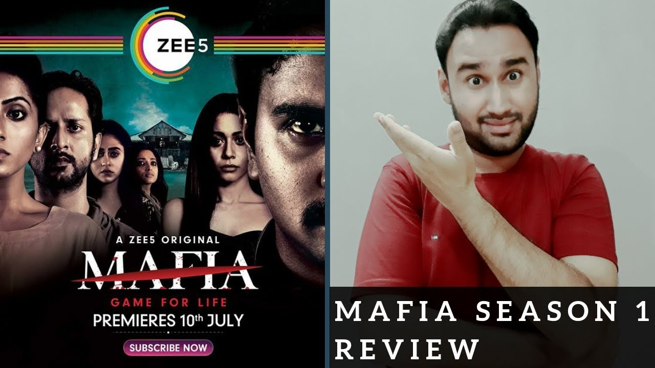 Mafia Review | ZEE5 Original Series Mafia | Mafia Web Series Review | Faheem Taj