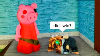 Roblox NOOB Plays PIGGY for the FIRST TIME...