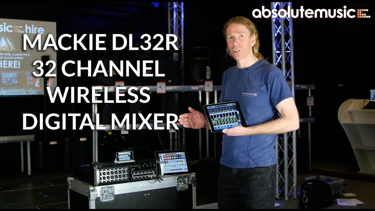 MACKIE DL1608 REVIEW Absolute Music