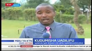 Mwenyeki wa EACC Eliud Wabukala afungua warsha katika Kaunti ya Bungoma