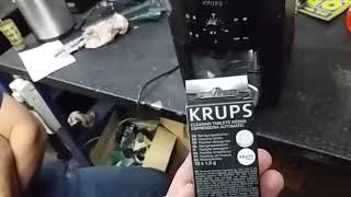 Limpieza de cafetera Krups