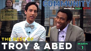 Best of Troy and Abed: Community S01  |  LeoAshe.com